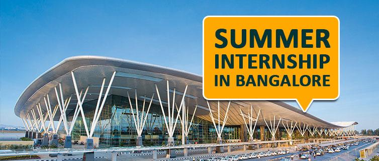 Summer internship in Bangalore