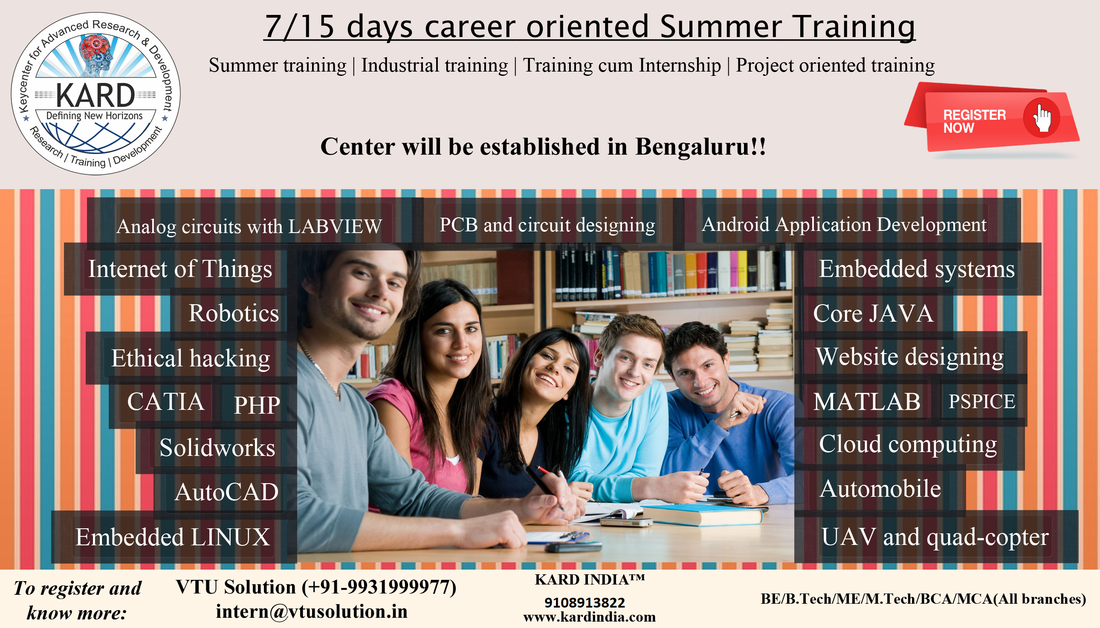 Internship for vtu students